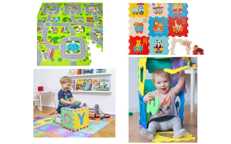 Die 10 angesagtesten Puzzlematten für kleinere Kinder