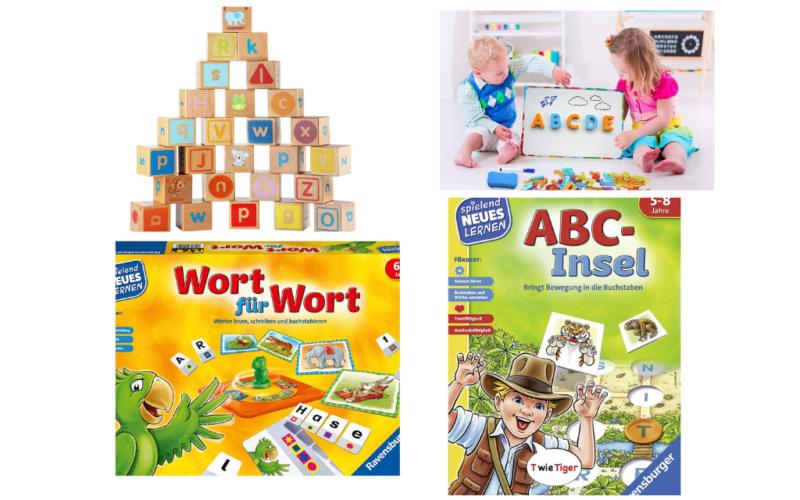 Die 7 besten Buchstabenspiele für Kinder