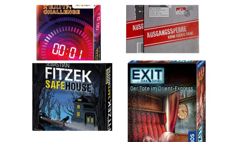 Die besten 5 Krimi Escape Games